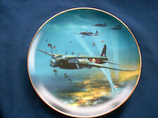 "Danbury Mint The Classic RAF Aircraft ""Vickers Wellington"" plate"