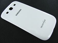 Genuine OEM White Back Battery Door Cover Samsung Galaxy S3 L710 i9300 i535 T999
