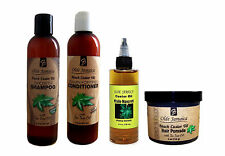 Olde Jamaica Black Castor Oil COMPLETE LINE (w/ Haitian Castor Oil) FOR REGROWTH