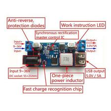 Practical 5A DC To DC Step-down Converter Module With USB Port Fast-Charge