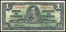Canada 1937 One Dollar PK 58d VF