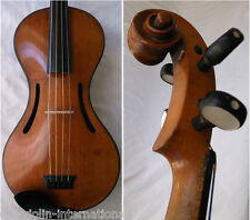 OLD 19th CENTURY FRENCH MASTER VIOLIN CHANOD - video- ANTIQUE バイオリン скрипка 831