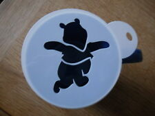 Laser cut winnie design coffee and craft stencil