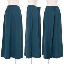 A.F.VANDEVORST Side-zip back design wool skirt Size 38(K-32040)