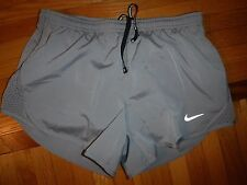 new NIKE Running Mens Shorts XS DRI-FIT track built in brief 799715-043 Marathon