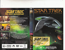 Star Trek:The Next Generation-TNG 9-1987/94-TV Series USA-3 Episodes-DVD