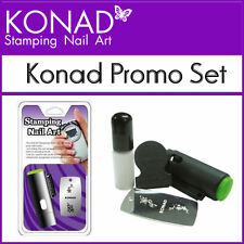 Konad Promo Set for Stamping Nail Art Designs Promotion Set