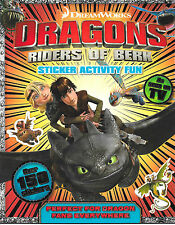 Sticker Activity Book - How To Train Your Dragon by Igloobooks