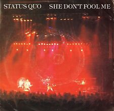 "STATUS QUO she don't fool me/never too late QUO 8 uk vertigo 7"" PS EX/VG"