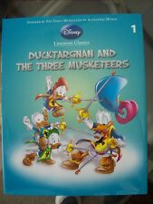 Disney Clasics, H/B Childrens Book, Ducktargnan & the 3 Musketeers