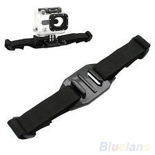 Universal Vented Helmet Strap Mount Adapter For Sport Camera Gopro HD Hero 1 2 3