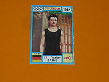 N°52 WALTHER BATHE 1912 PANINI OLYMPIA 1896 - 1972 JEUX OLYMPIQUES OLYMPIC GAMES