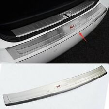 FitFor Lexus RX270 RX350 RX450h Stainless steel Rear Bumper Protector cover trim