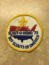 VINTAGE SCOUT-O-RAMA '72 BOY SCOUTS OF AMERICA PATCH