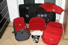 Bugaboo Cameleon Pushchair - Red/Grey (Plus Many Extras)