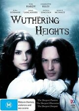 WutheringHeights (DVD) Tom Hardy / Charlotte Riley - Region 4 - VGC