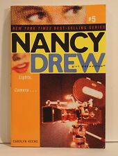 Lights, Camera... 5 by Carolyn Keene and Nancy Drew (2004, Paperback)