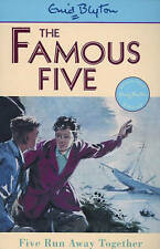 NEW (3)  FIVE RUN AWAY TOGETHER ( FAMOUS FIVE book ) Enid Blyton