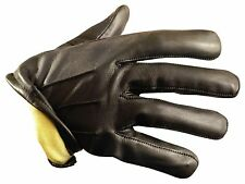 Kevlar Lined Leather Duty Gloves - Cut Resistant Kevlar Liner Size XL