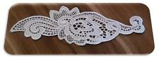 Organic Cotton Lace Insert, 70mm - Natural