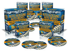 Make More Money In Less Time - Automated Blogging - Auto Blogging Riches (CD)