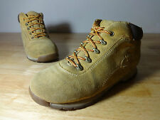 Womens boots size 5 Timberland suede wheat lace up walking,hiking,trail,festival