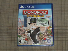 Monopoly Family Fun Pack (Sony PlayStation 4, 2014) ***** Factory Sealed *****