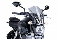 Yamaha MT07 Touring Style Screen: Smoke