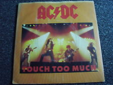AC/DC- Touch too Much 7 PS-Made in UK