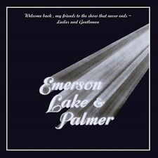 EMERSON LAKE & PALMER-WELCOME BACK MY FRIENDS TO THESHOW THAT NEVER 2 CD NEU