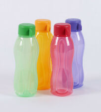 Tupperware water Aquasafe 310 ml-- 4 pc Multicolour BOTTLE