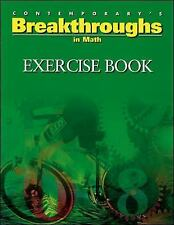 Breakthroughs In Math, Exercise Book (Breakthroughs Exercise Books), Contemporar