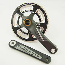 FSA Hollow Carbon/Alloy Crankset 175mm 110 BCD 34/50t BB30 BB86 BB386 READ NOTE