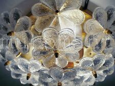 Small Crystal Floral Flush Mount PALME (PALWA) CHANDELIER Germany