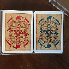 Two Vintage Decks Boxed Set Vintage Playing Cards Advertising Cointreau Unopened