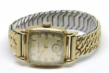 Bulova 10K Gold Filled Manual Movement Wrist Watch