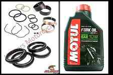 Honda CB750F2  92 to 00 Front Fork Bushes Fork Seals & Dust Seals & Fork Oil Kit