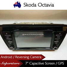 "7"" Car DVD GPS Navigation Head Unit Stereo Radio For Skoda Octavia"
