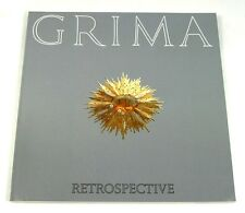 Andrew Grima Retrospective very rare 1991 book Catalogue 18kt Omega About-Time