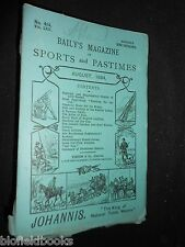 Baily's Magazine of Sports & Pastimes 1894: Lake Fishing, Sculling, Coaches, etc
