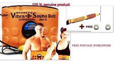 3 in 1 Sauna Belt Massaggiatore slimming vibranti, ACUPRESSURE, vibrazioni bruciagrassi