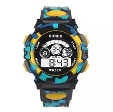 Quality Water Proof Quartz Digital Wrist Watch Alarm Date Chronometer  Men Kids