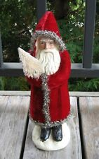Belsnickle Red SANTA & Tree*Primitive/French Country Christmas Farmhouse Decor