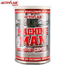 Machine Man Combo 240 Caps BCAA Amino Acids Creatine Testosterone Booster