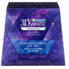 Crest 3D Whitestrips  Luxe Professional Effects - 40 Strips: 20 Treatments