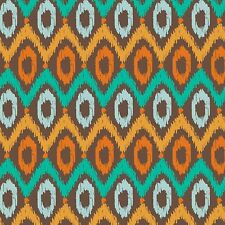 "Fabric Western Aztec Indian Sunset Blanket Geometric on Cotton 3 Yards (+or- "")"
