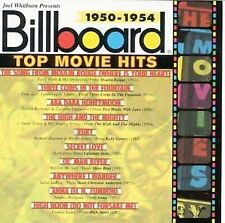 Billboard Top Movie Hits 1950-1954 by Various Artists (CD, Apr-1996, Rhino (Labe