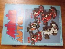 $$w Revue Minis Auto Magazine N°60 Ferrari Daytona NART  Renault 5 Turbo  F1