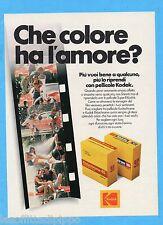 QUATTROR981-PUBBLICITA'/ADVERTISING-1981- KODAK PELLICOLE SUPER 8