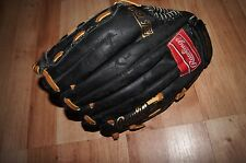 vintage baseball glove Rawlings all leather palm RBG21W 11 1/2 inch fastback mod
